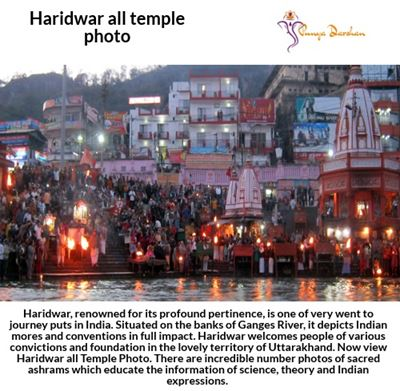 Get the best photo of Haridwar all Temple